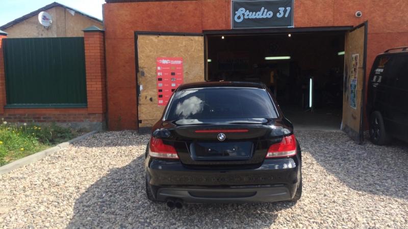 Доброе Утро Результат от STUDIO31 нанесения жидкого стекла на BMW135 безфильтров студия31