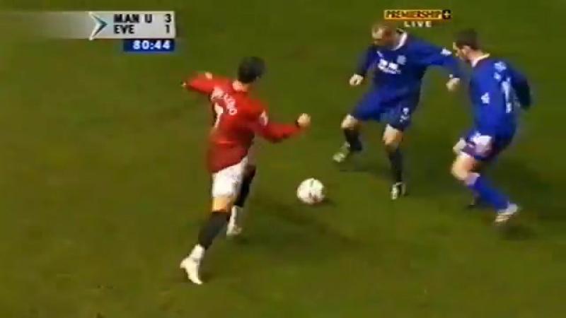 Cristiano Ronaldo Vs Everton Home (26122003)