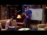 Шелдон учит Пенни физике