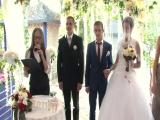 Церемония Тани и Влада. Ведущая Анна Корниенко