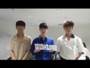 170821 Stylive Celeb Board upload video of PENTAGON Hongseok YeoOne and Seonho