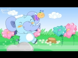 Lesson 1_(B)How old are you - How old - Age - Cartoon Story - English Education - for kids