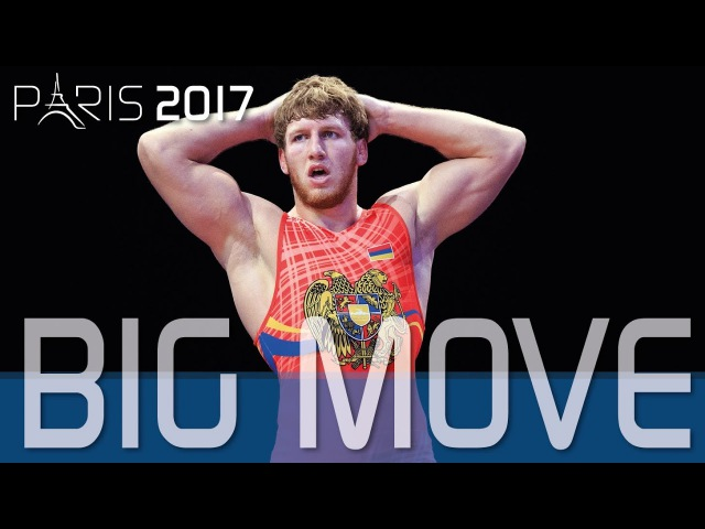 Big Move From Day 1 Of The World C'ships, Lutte2017