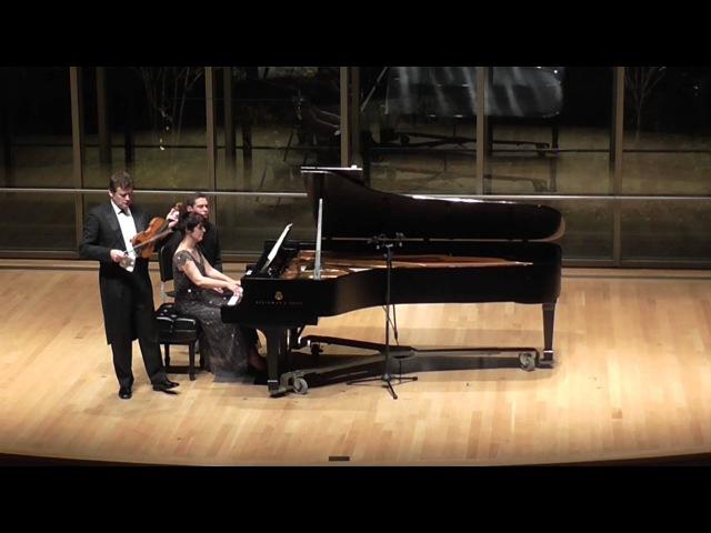 Smetana Z Domoviny (From my homeland) Ivan Zenaty and Sandra Shapiro Violin/Piano duo12/13