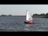 DinghyGo Nomad 3 sailing