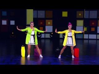 Танцы: Ирина Лысенко и Линда Паулауска (Алёна Пономаренко - Шуры-Муры) (сезон 3, серия 14)