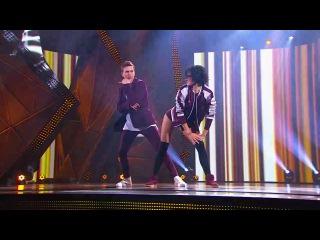 Танцы: Саша Селиванова и Тэо Эдуард (Bruno Mars - Locked Out Of Heaven) (сезон 3, серия 14)