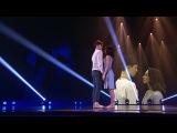 Танцы: Анна Андрющенко и Константин Зайц (Дима Билан - Часы) (сезон 3, серия 14)
