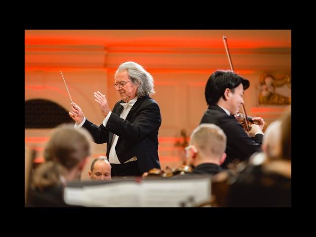 Seiji Okamoto plays Brahms Violin Concerto in D major, Op. 77 | STEREO