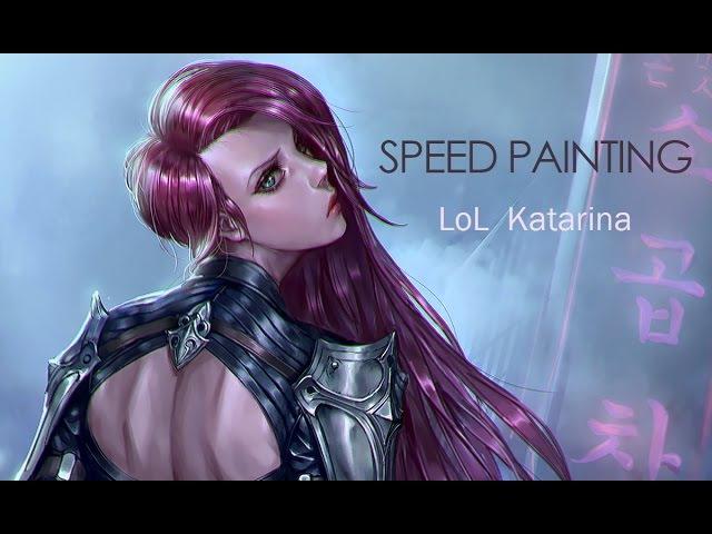 롤 카타라나 스피드페인팅 / lol katarina speed painting