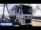 ON THE ROAD - Truck Simulator: Mit dem MAN-LKW unterwegs! GAMEPLAY Preview zum LKW-Simulator OTR