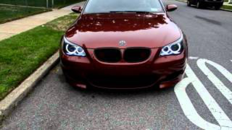BMW M5 E60 Indianapolis Red бмв м5 е60