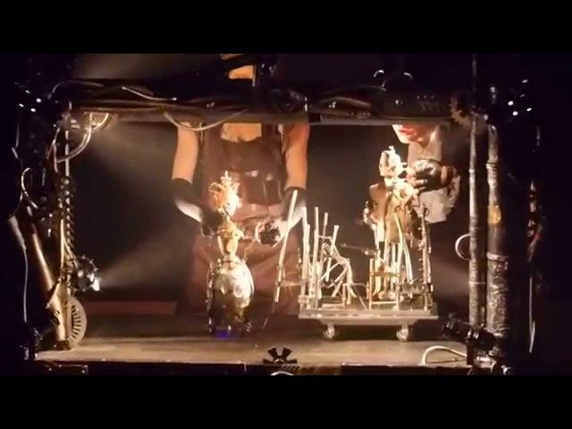 Фрагмент спектакля Сказки роботов о настоящем человеке театра Практика