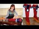 Как сделать имитацию сапог для аниме косплей костюма