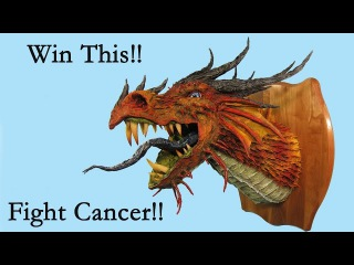 Win This Paper Mache Dragon Trophy!