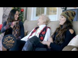 Brie and Nikki toilet papered houses with their Nana! Bella Family Origins