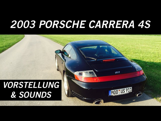 The BM: Porsche 911 (996 Mk2) Carrera 4S - Vorstellung, Drive Sounds   VLOG №11.