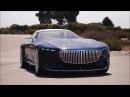 Новый Vision Мерседес-Майбах 6 кабриолет . Интерьер и экстерьер автомобиля.