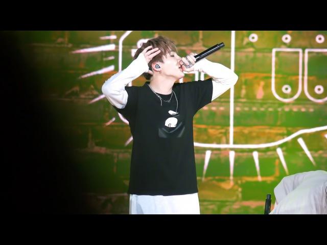 160907 힘찬함성 BTS DOPE 쩔어 (SUGA 슈가 FOCUS) short ver.
