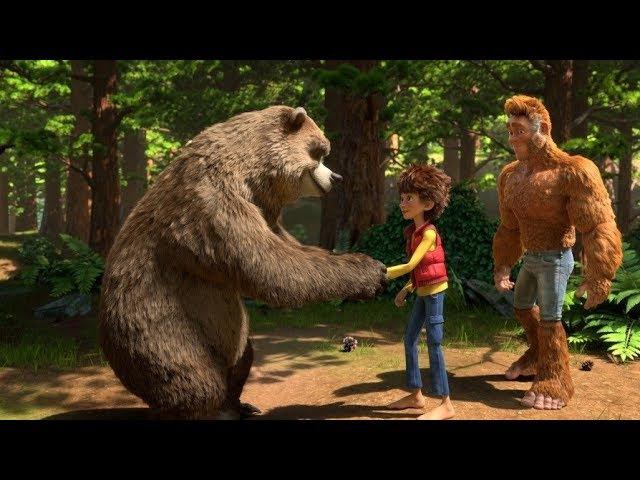 Бигфут младший The Son of Bigfoot - Русский трейлер. Мультфильмы 2017