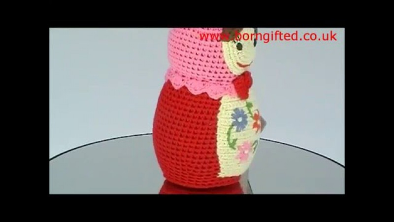 Crochet Russian Doll by Anne-Claire Petit