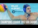 Len Champions League 2017 Best Goleadors 2 Milan Aleksic from Szolnok