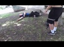 Broken leg - Parkour accident! (graphic scenes)