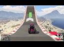 Гонка на тракторах и красочная трасса на Blazer Aqua  в Gta online