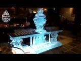 Ледяной бар и самовар с водкой @Caviar Bar Restaurant , Grand Hotel Europe