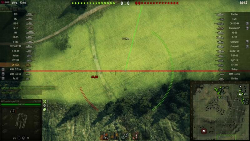 World Of Tanks: В бой на СУ - 122а