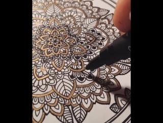 Потрясающие мандалы художницы Asmahan Mosleh