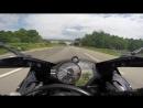 Yamaha R1 Автобан Германия