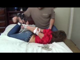 Daniella first time tied
