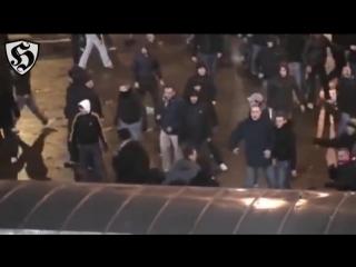 PSG Hooligans Fight _ Boulogne vs Auteuil