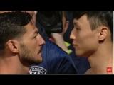 Cub Swanson vs. Doo Ho Choi staredown | Каб Свонсон vs Ду Хо Чой битва взглядов