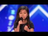 Будущая Селин Дион удивляет жюри потрясающим голосом на Голосе 2017