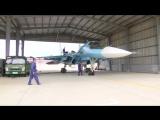 Подготовка техники ВКС России к конкурсу «Авиадартс-2017» АРМИ-2017 в КНР