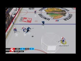 NHL.2K10 - NHL vs KHL /roster 2017 [ PCSX2 1.3.1 /DX-11/ 60fps ] 16:9 / HD-1080.p