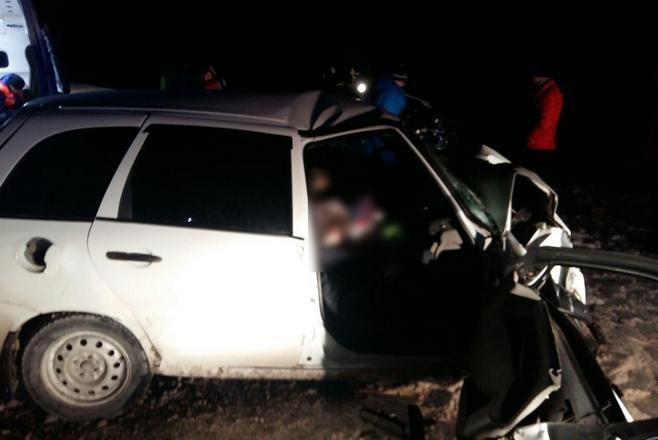 Альметьевск: ВТатарстане два человека погибли вДТП натрассе Чистополь