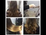 Окрашивание волос от стилиста Ксении
