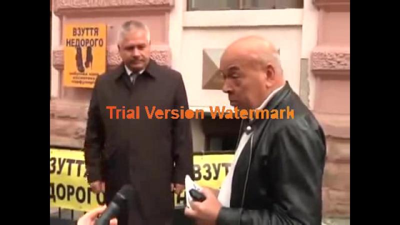 Геннадій Москаль криє матом журналіста1