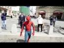 Человек-Паук в России. Встреча с фанатами и прогулка по красной площади.