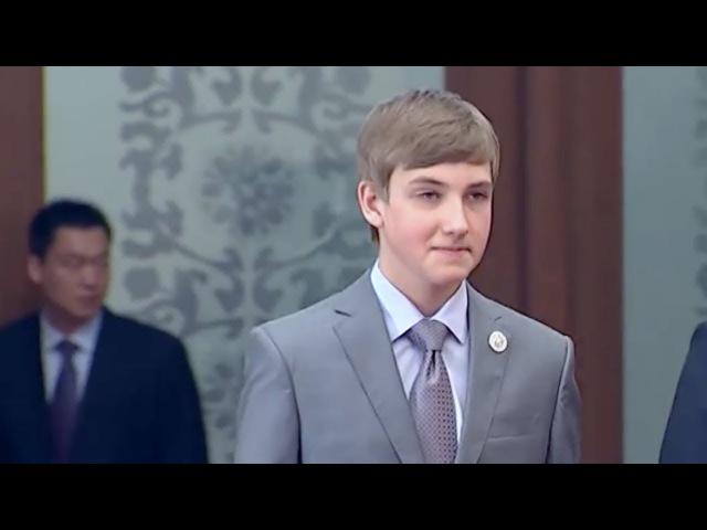 Дзень народзінаў Колі тата падорыць новую рэзідэнцыю Urodziny Koli Łukaszenki Коля Лукашенко