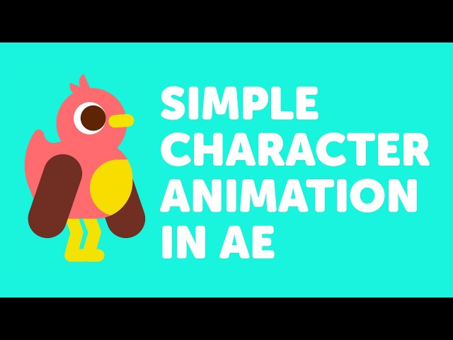 Ducky - After effects character animation