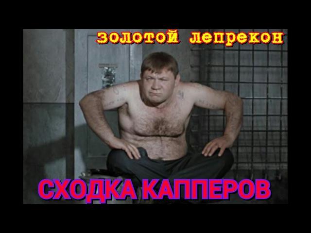 ТЮРЬМА.СХОДКА КАППЕРОВ.ЗОЛОТОЙ ЛЕПРЕКОН.
