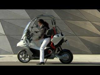 Raptors & Rockets presents the BMW C1-E electric scooter concept featuring Vectrix technology