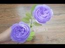 DIY - Paper David Austin roses by crepe paper- David austin rosas de papel crepé- 大衛奧斯汀玫瑰從縐紙