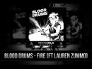 Blood Drums Fire feat Lauren Zummo Impossible Records