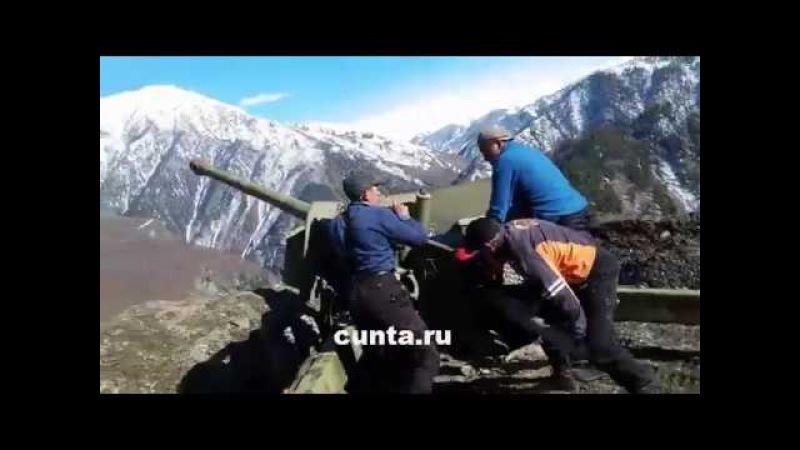 В Цунтинском районе Дагестана провели принудительный спуск снежных лавин