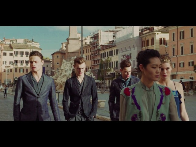 Emporio Armani - Behind the Scenes of the 2017 Spring Summer Advertising Campaign